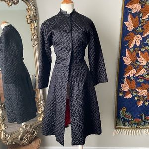Vintage 1960's Quilted Coat